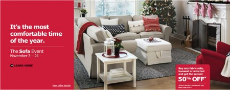 IKEA Sofa Event (Until Nov 24)