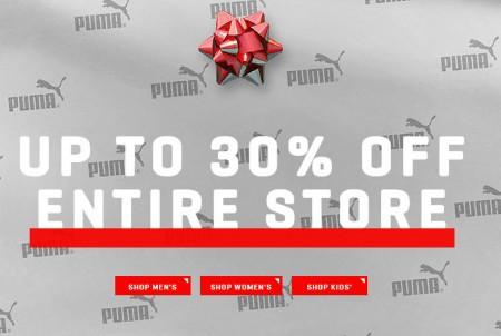 PUMA Pre-Black Friday Sale - Up to 30 Off Entire Site (Until Nov 25)