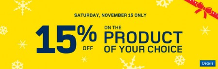 RONA 15 Off Any One Product of Your Choice (Nov 15 Only)
