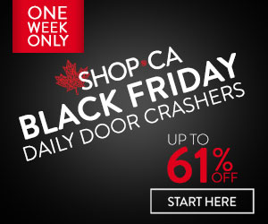 SHOP Black Friday Week - Daily Door Crashers