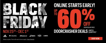 Sport Chek Black Friday Sale - Shop Online Now (Nov 25 - Dec 1)