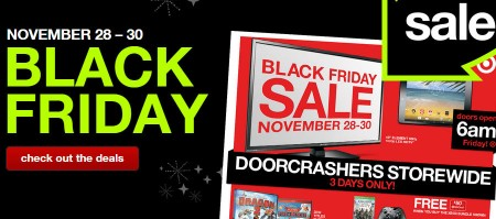 Target canada black friday sale flyer nov 28 30 for Las vegas hotels black friday deals