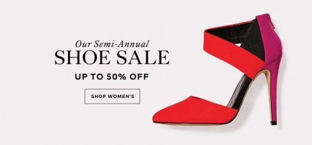 TheBay Semi-Annual Shoe Sale - Save up to 50 Off