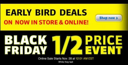 Toys R Us Black Friday Event - Half Price Event