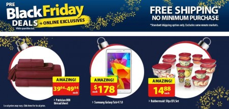 Walmart Pre-Black Friday Deals + Online Exclusives (Nov 25-27)