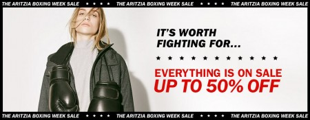 Aritzia Boxing Week Sale - Everything is on Sale - Up to 50 Off