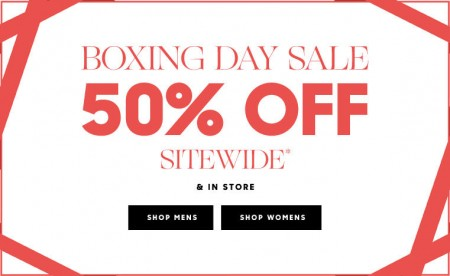 Armani Exchange Boxing Day Sale - 50 Off Sitewide & In-Store