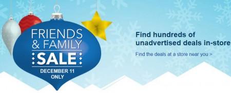 Best Buy Friends & Family Sale In-Store Only (Dec 11)