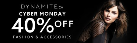 Dynamite Cyber Monday Sale - 40 Off Everything + Free Shipping (Dec 1-2)