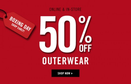 Forever 21 Boxing Day - 50 Off Outerwear + Free Shipping