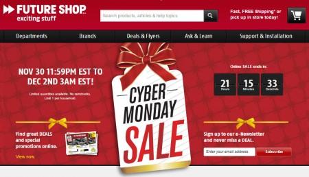 Future Shop Cyber Monday Sale (Dec 1)