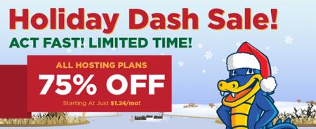 HostGator Flash Sale - 75 Off Web Hosting Packages (Dec 16)