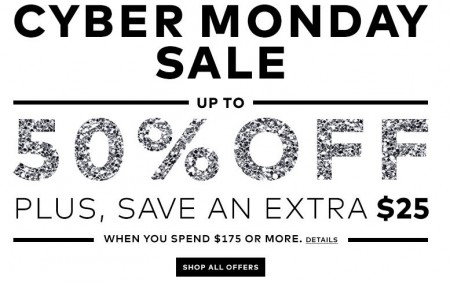 Hudson's Bay Cyber Monday Sale - Up to 50 Off (Dec 1)