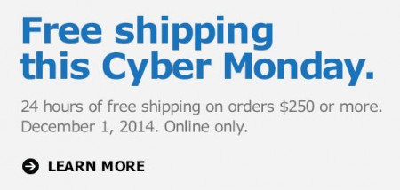IKEA Cyber Monday - Free Shipping (Dec 1)