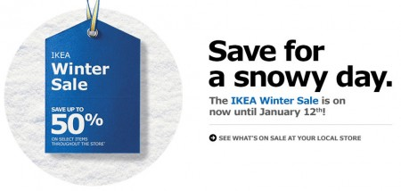 IKEA Winter Sale - Save up to 50 Off Hundreds of Items (Until Jan 12)