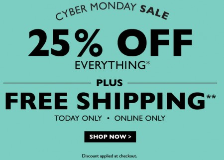 Naturalizer Cyber Monday Sale - Extra 25 Off Everything + Free Shipping (Dec 1)