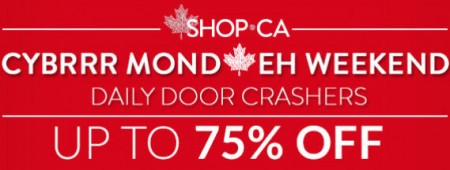 SHOP Cybrrr Monday Daily Door Crashers - Save up to 75 Off