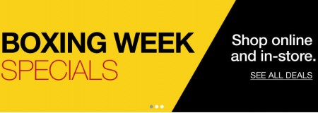 Staples Boxing Week Specials