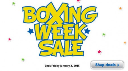 Toys R Us Boxing Week Sale (Dec 26 - Jan 2)