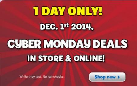 Toys R Us Cyber Monday Deals (Dec 1)