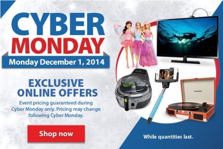Walmart Cyber Monday Sale - Exclusive Online Offers (Dec 1)