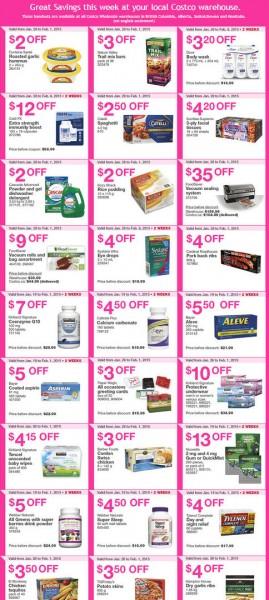 Costco Weekly Handout Instant Savings Coupons (Jan 26 - Feb 1)