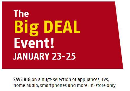 Future Shop The Big Deal Event (Jan 23-25)