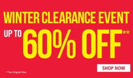 Mark's Winter Clearance Event - Up to 60 Off