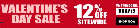 Buytopia Valentine's Day - Extra 12 Off Sitewide Promo Code (Feb 13-16)