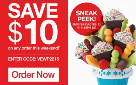 Edible Arrangements Save $10 Off Any Order Promo Code (Feb 20-22)