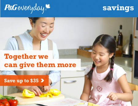 P&G Everyday Save up to $35 in Coupons Savings