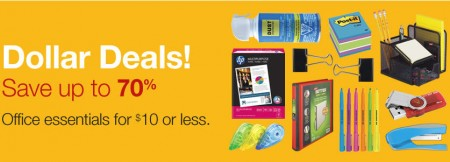 Staples Dollar Deals - Save up to 70 Off Office Esstentials