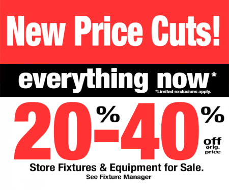 Target Canada New Price Cuts Liquidation Sale - Everything is now 20 - 40 Off