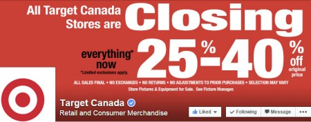 Target Canada Prices Slashed Again - 25-40 Off Entire Store