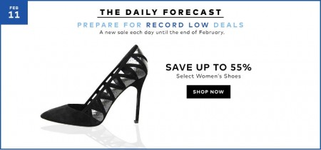 TheBay Today Only - Save up to 55 Off Select Women's Shoes (Feb 11)