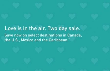 WestJet Two-Day Seat Sale (Book by Feb 13)
