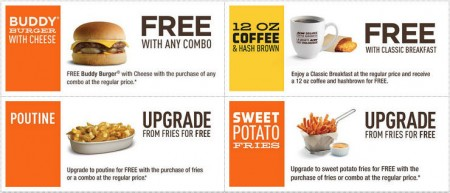 A&W Canada New Printable Coupons (Until Apr 5)