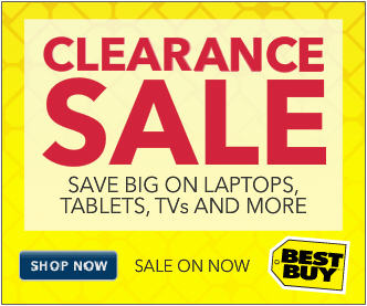 Best Buy Clearance Sale In-Store and Online