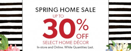 Chapters Indigo Spring Home Sale - Up to 30 Off Home Decor