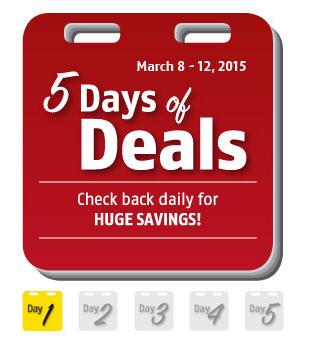 Future Shop 5 Days of Deals (Mar 8-12)