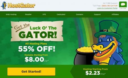 HostGator 55 Off All Web Hosting Plans (Mar )