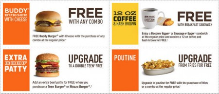 A&W Canada New Printable Coupons (Until May 10)
