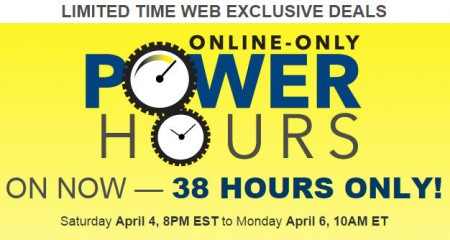 Best Buy Power Hours Sale - Online Only (Apr 4-6)