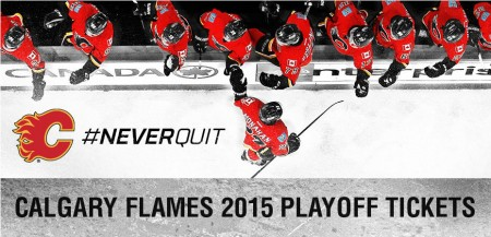Calgary Flames Register to Buy 2015 Playoff Tickets