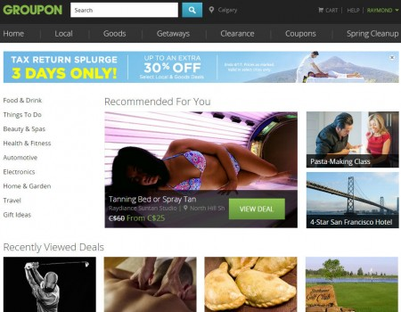 GROUPON Save up to Extra 30 Off Select Local Deals (Apr 15-17)
