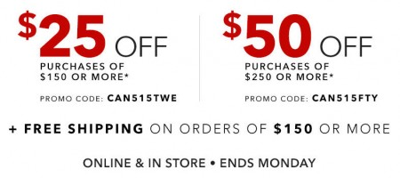 Golf Town $25 Off $150 Purchase, or $50 Off $300 Purchase + Free Shipping (Apr 12-13)