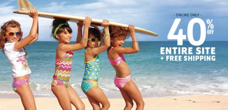 The Children's Place 40 Off Entire Site + Free Shipping on All Orders (Apr 13-16)