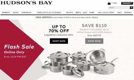 TheBay.com Flash Sale - Save up to 70 Off Cookware Set (Apr 8)