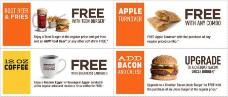 A&W Canada New Printable Coupons (May 11-24)
