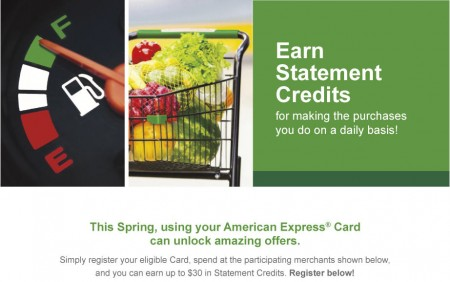 American Express Earn up to $30 in Free Statement Credits (Until May 30)